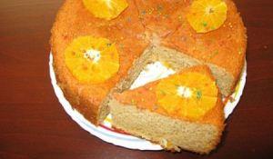 آموزش درست کردن کیک بهار نارنج با پرتغال