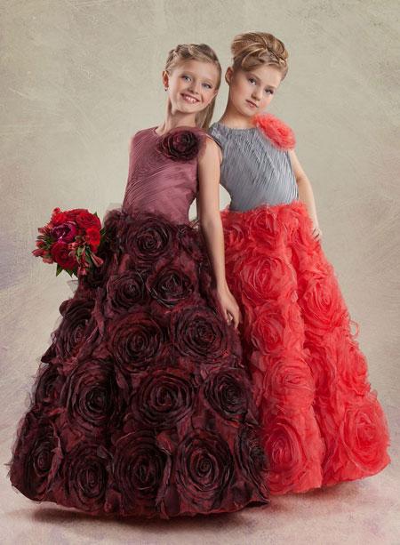 مدل لباس مجلسی دختر بچهها طرحهای زیبا