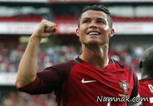 رونالدو رکورد بازی های ملی لوئیز فیگو را شکست
