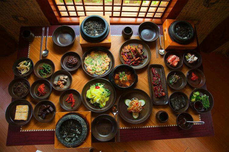 آداب غذا خوردن در کره