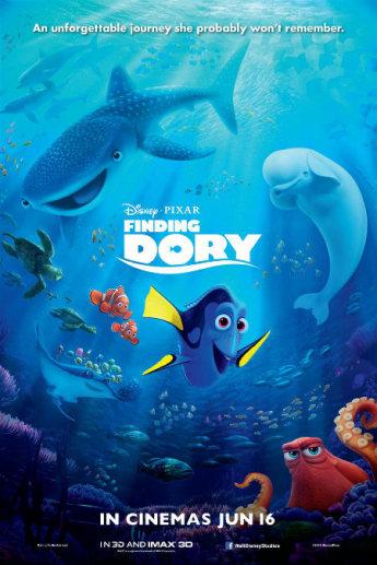 انیمیشن جدید در جستجوی دوری Finding Dory 2016
