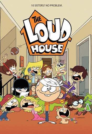 فصل 1 انیمیشن خانه پر سر و سدا Loud House 2016