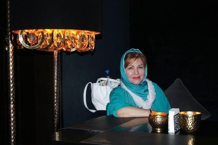 اکرم محمدی در اکران خیریه فیلم بارکد