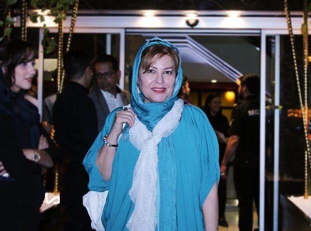 عکسهای اکرم محمدی در اکران خیریه بارکد