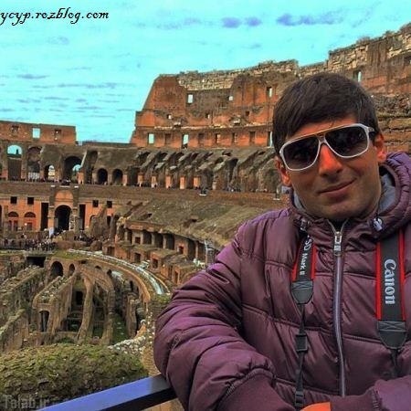 تصاویر حمید گودرزی در سفر به اروپا