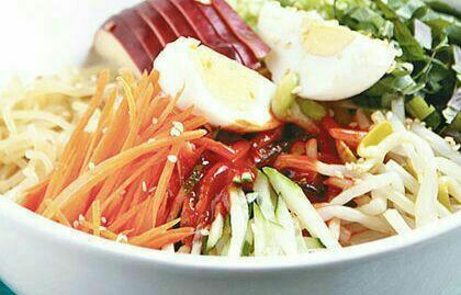 طرز تهیه ی رشته فرنگی با سبزیجات کره ای یا جاپچایی