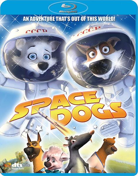 دانلود دوبله فارسی انیمیشن سگ های فضایی Space Dogs 2010