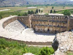 تصاویری از حمام تاریخی رومی های در شهر آنتالیا