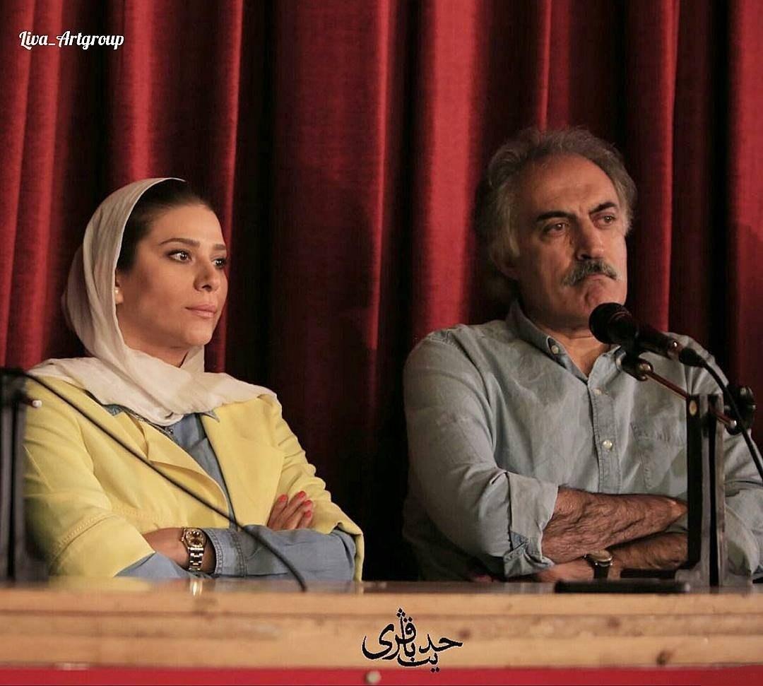 سحر دولتشاهی در نشست خبری فیلم دونده زمین