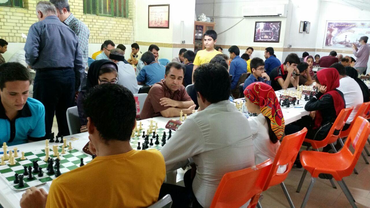برگزاری مسابقات جام رمضان 95به میزبانی هیات شطرنج کازرون