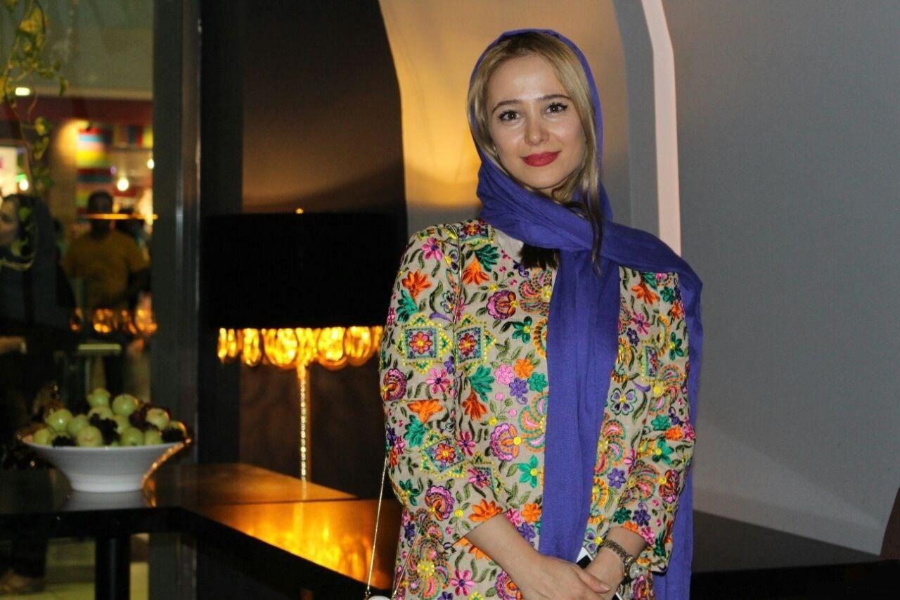 تصاویر الناز حبیبی در مراسم اکران خصوصی فیلم زاپاس