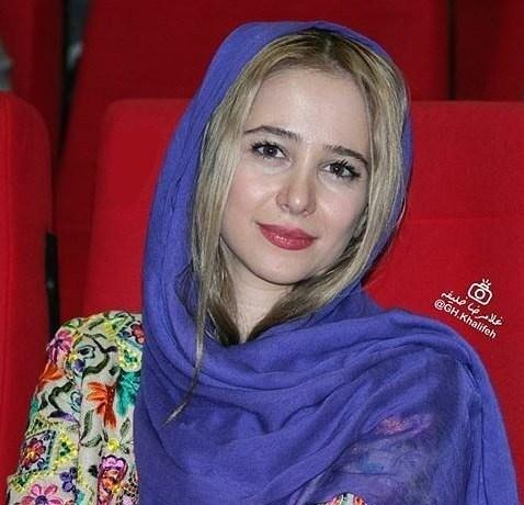الناز حبیبی در مراسم نمایش فیلم زاپاس