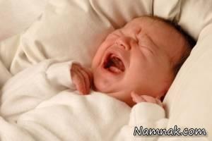 نوزادتان به چه دلیل گریه می کند؟