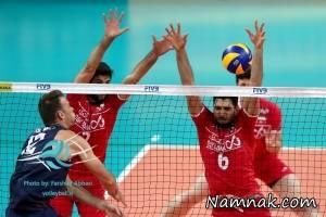 نتیجه بازی والیبال ایران و بلغارستان لیگ جهانی 3 تیر 95 + فیلم