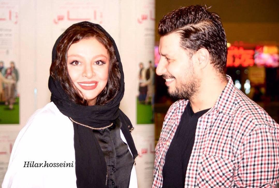 تصاویر جواد عزتی و همسرش مه لقا باقری