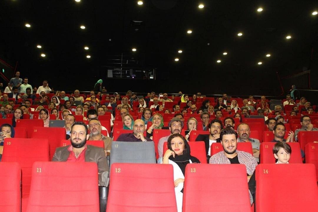 عکس جدید جواد عزتی و مه لقا باقری در مراسم اکران فیلم زاپاس