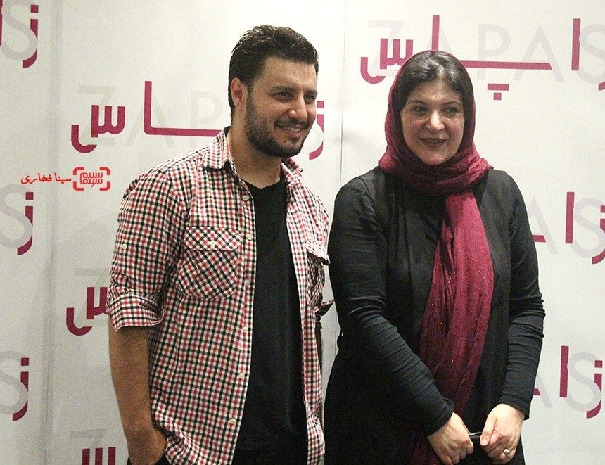 ریما رامین فر و جواد عزتی در اکران خصوصی فیلم زاپاس