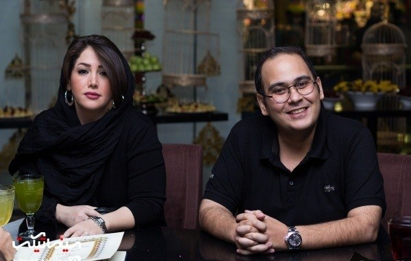 رضا داوودنژاد و همسرش غزل بدیعی در اکران خصوصی فیلم زاپاس:4 عکس
