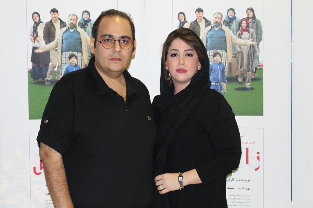 عکسهای رضا داودنژاد در کنار همسرش