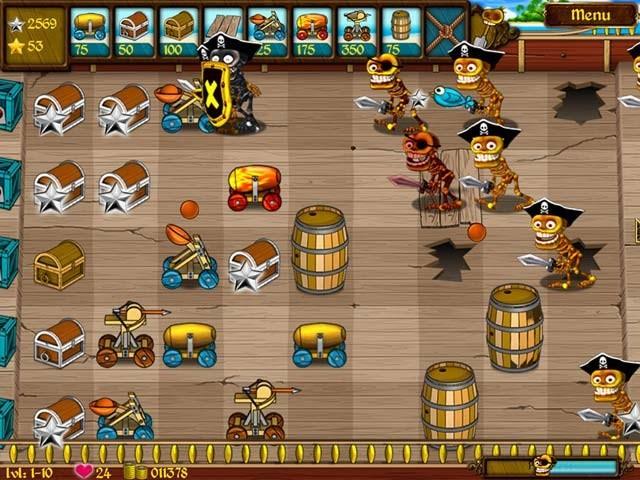 دانلود بازی دزدان دریایی اسکلتی skeleton pirates برای PC