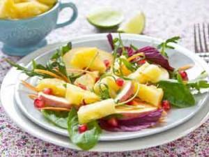 آموزش درست کردن هویج و سالاد میوه