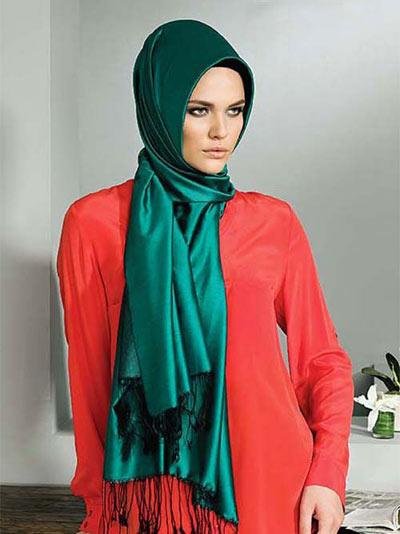 مدل روسری مارک دار