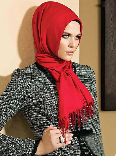 زیباترین مدلهای روسری مارکدار