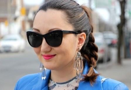 مدل عینک زنانه پرادا