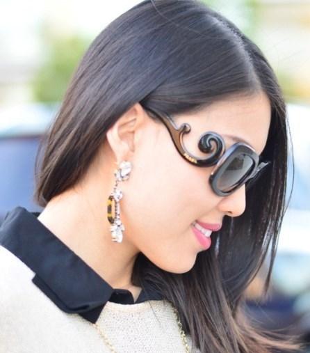 مدل های عینک آفتابی زنانه از برند Prada