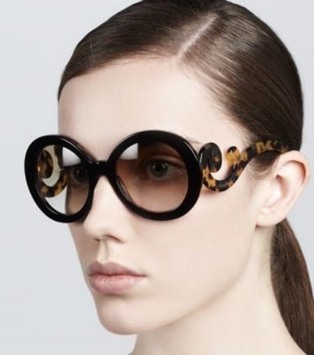 مدل عینک آفتابی برند پرادا