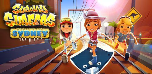 دانلود بازی فرار در مترو + نسخه نامحدود - Subway Surfers