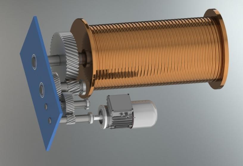 پروژه طراحی اجزا: طراحی بالابر به همراه کلیه محاسبات و فایل های سه بعدی