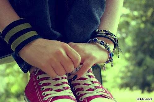 کفش ها چه عاشقانه هایی با هم دارند...!