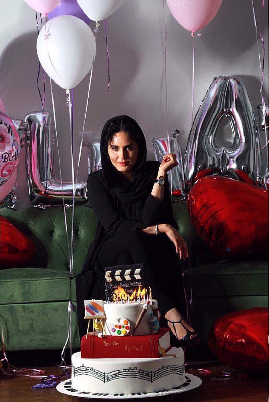 عکس جشن تولد ۳۲ سالگی الناز شاکردوست:تک عکس