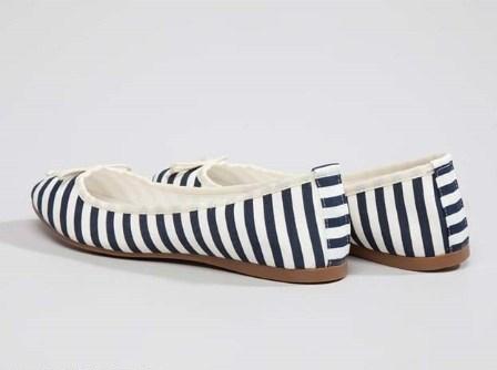 مدل کفش راه راه دخترانه