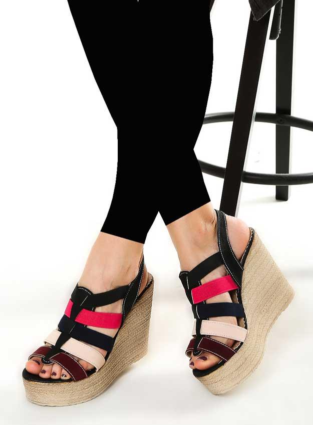 مدل کفش لژدار تابستانی دخترانه