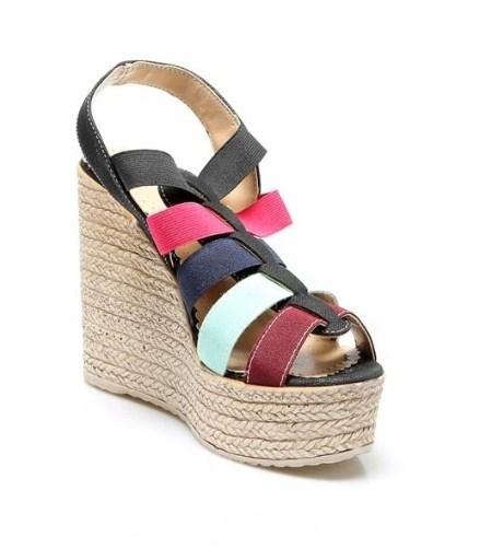 کفش لژدار | مدل کفشهای پاشنهدار راحتی تابستانه