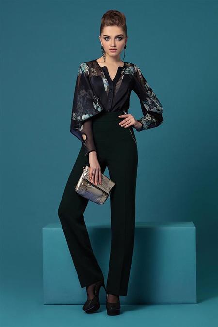 مدل بلوز گلدار زنانه برند Noche Mio