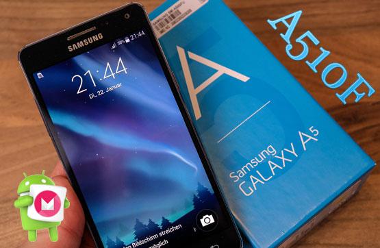 دانلود آپدیت و رام رسمی Galaxy A5 2016 A510F اندروید ۶.۰.۱
