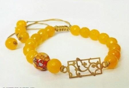 مدل دستبند ایرانی گل ترنچ