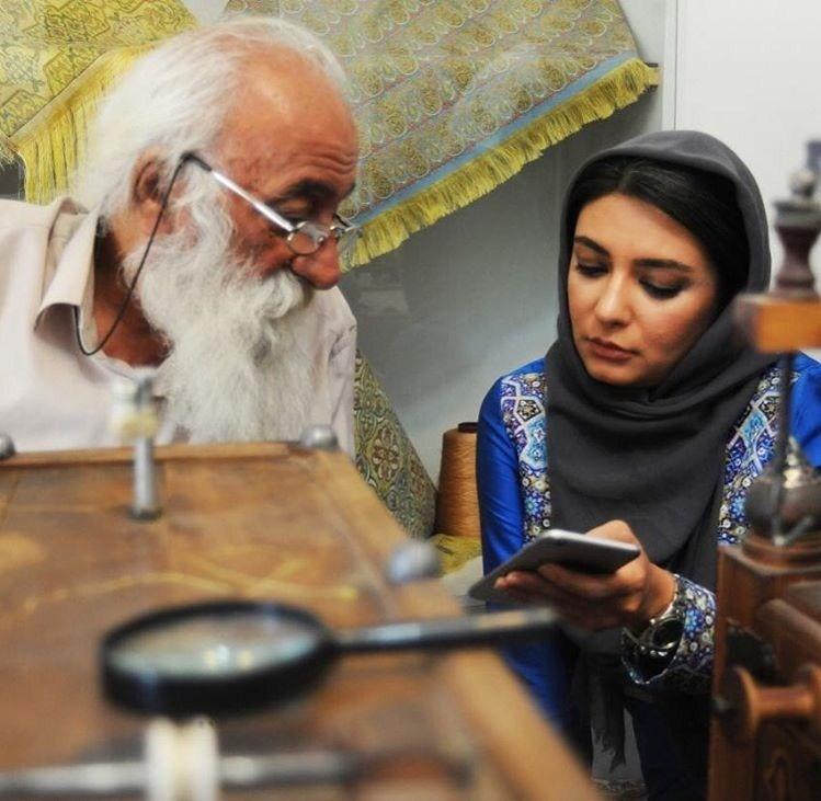 عکس لیندا کیانی در اصفهان