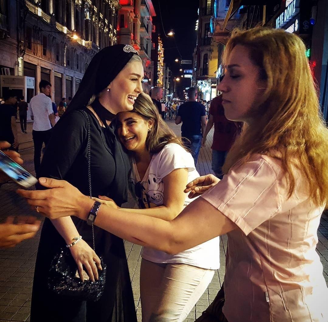 عکس سحر قریشی در استانبول ترکیه