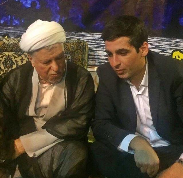 عکس جدید حمید گودرزی در کنار رفسنجانی