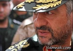 12 نظامی عالی رتبه و سرلشکران ایران