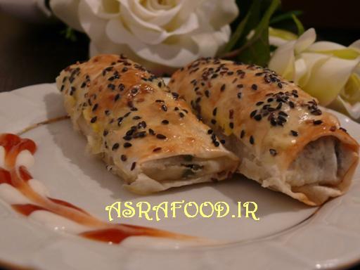 بورک اسفناج و پنیر Ispanaklı Böreki