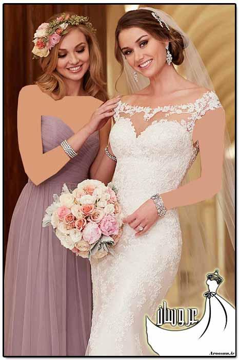 مدل لباس عروس دانتل - بخش سوم