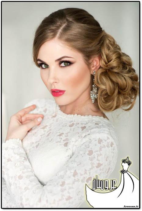 مدل موی عروس - بخش سوم