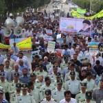 راهپیمایی روز جهانی قدس در شهرستان ممسنی