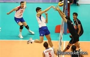 نتیجه بازی والیبال ایران و صربستان در لیگ جهانی 11 تیر 95 + فیلم