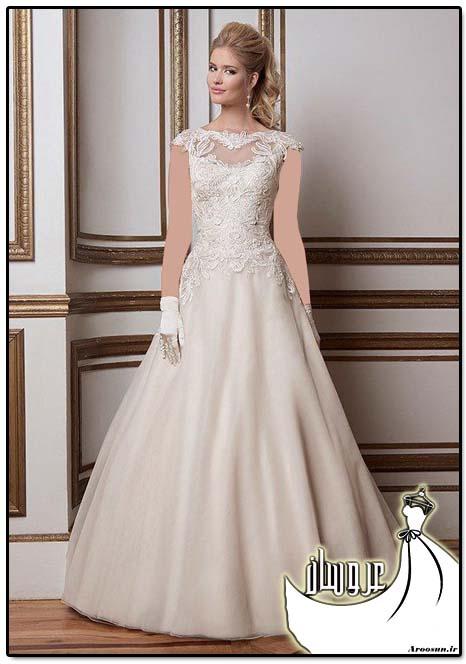 مدل لباس عروس پفی - بخش 5